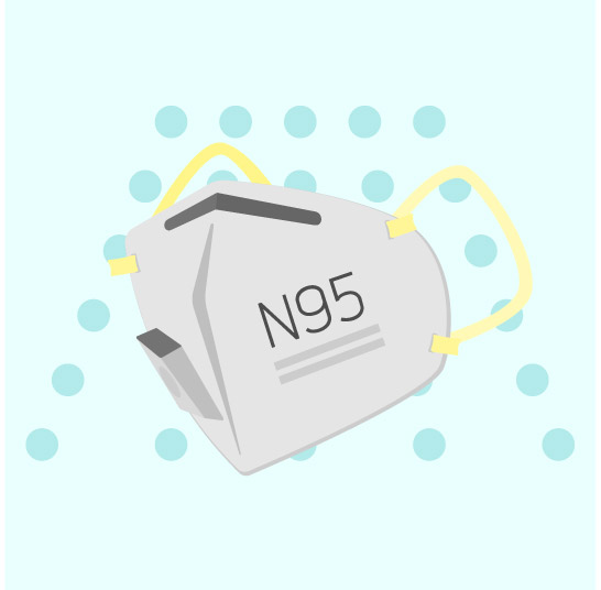 N95 Mask Decontaminated by Battelle CCDS
